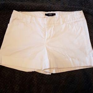 Women's white mossimo shorts